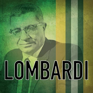 """Lombardi"" Logo presented by the Racine Theater Guild"