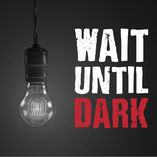 "Racine Theater Guild's production of ""Wait Until Dark."""