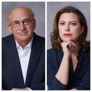 Barry Levine (Left) and Monique El-Faizy (Right), authors