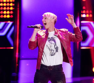 "Betsy Ade, local singer and contestant on NBC's ""The Voice"""