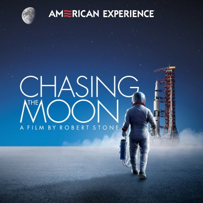 """Chasing the Moon,"" PBS Documentary Logo"