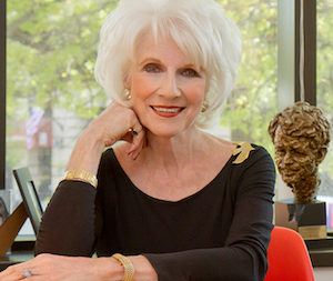 Diane Rehm, a highly-regarded public radio host and author