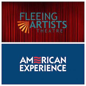 Fleeing Artists Theater-Logo, American Experience-Logo
