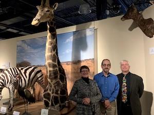 Left to Right: Nancy Matthews, Dan Joyce, and Greg Berg