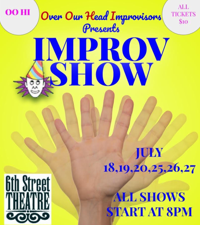 Over Our Head Players' upcoming Improv event