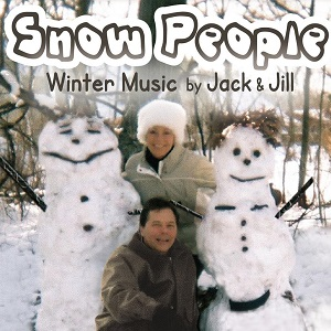 "Jack and Jill Jensen on the album cover of ""Snow People"""