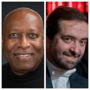 L to R: Dr. James Kinchen from UW-Parkside, Dr. Eduardo Garcia-Novelli from Carthage College