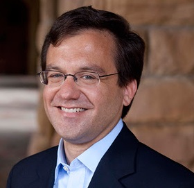 Dr. John Swallow,  president of Carthage College