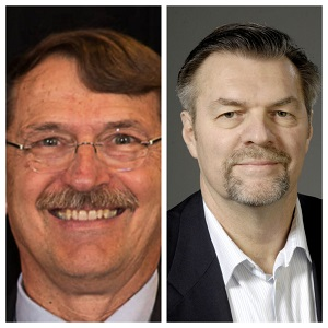 John Lehman - Democrat (Left), Bob Wittke- Republican (Right)