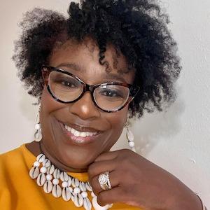 Kelly Scroggins-Powell, Executive Director of Racine Women for Racial Justice.
