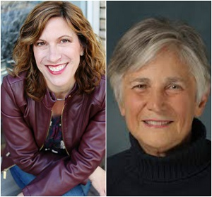 Author Leah Ingram (Left), Education Advocate Diane Ravitch (Right)
