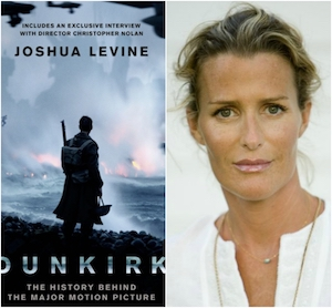 Author Joshua Levine's Dunkirk (Left):  India Hicks; Friend of Princess Diana (Right)
