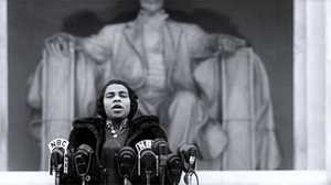 Marian Anderson, the opera singer who sang on the steps of the Lincoln Memorial in 1939.