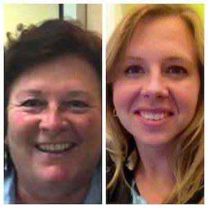 L to R: Nan Calvert, Environmentalist; Megan Severson, state director of Wisconsin Environment,