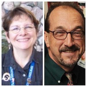 Nancy Matthews (Left), Dan Joyce (Right)
