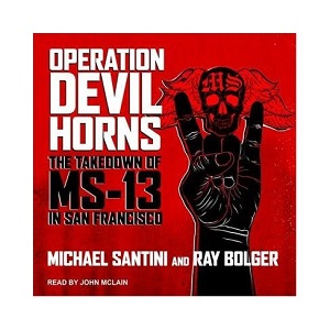 """Operation Devil Horns"" Book Cover"
