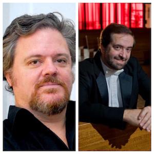 Martin Palmeri (Left)  Dr. Eduardo Garcia-Novelli (Right)