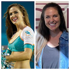 Kristin Ann Ware, Former NFL Cheeleader for the Miami Dolphins