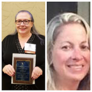 Left to Right: Ruth Donalds, long standing Foster Parent and Lisa Retzlaff, Director of Residential Care at Kenosha Human Development Services.