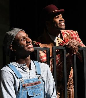 "Photo from the KUSD production of ""The Scottsboro Boys,"""