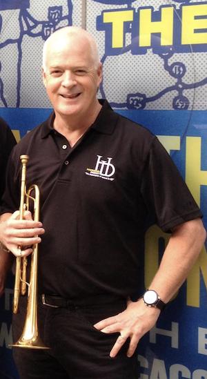 Tim Burke, Trumpeter