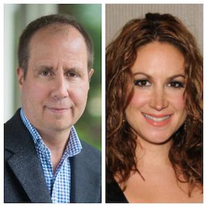 L to R: Dr. Steven Phillips and Dana Parish, authors