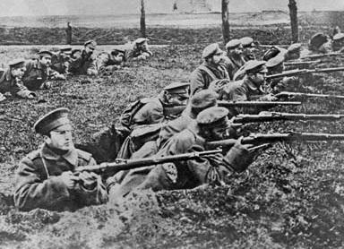 Photo from the battlefields of World War 1