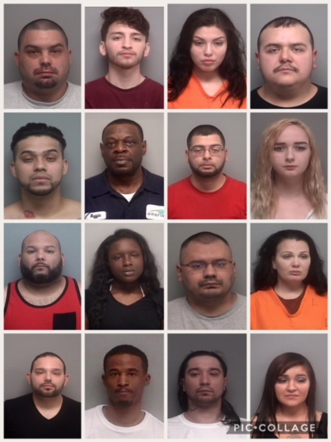 Walworth County Drug Bust Results in 16 charges