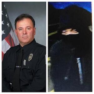 RPD Officer John Hetland (Left), Alleged Suspect(Right)