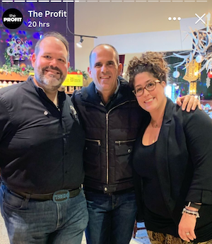 From Left to Right: Tyson Wehrmeister, Marcus Lemonis, and Natalie Brossard