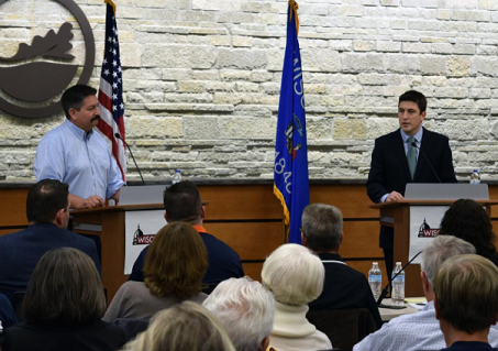 Steil, Bryce Highlight Personal Differences In 1st District